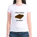 Chocolate Junkie Jr. Ringer T-Shirt