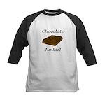 Chocolate Junkie Kids Baseball Jersey