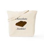 Chocolate Junkie Tote Bag