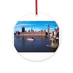 London 8 Ornament (Round)