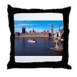 London 8 Throw Pillow