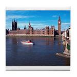 London 8 Tile Coaster