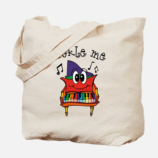 Tickle Me Piano Tote Bag