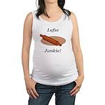 Lefse Junkie Maternity Tank Top