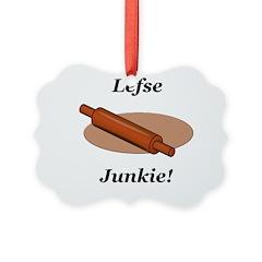 Lefse Junkie Ornament