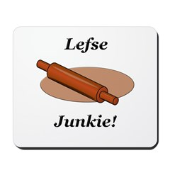 Lefse Junkie Mousepad