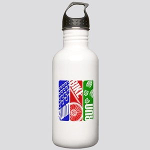 Triathlon TRI Swim Bike Run 3D Water Bottle