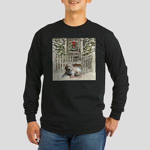Goldendoodle Christmas Long Sleeve T-Shirt