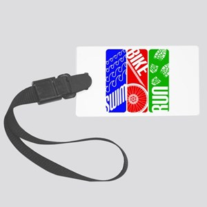 Triathlon TRI Swim Bike Run Luggage Tag
