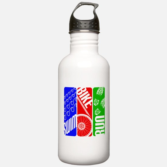 Triathlon TRI Swim Bike Run Water Bottle