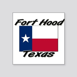 Fort Hood Texas Rectangle Sticker