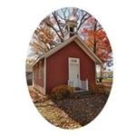 Little Red Schoolhouse Ornament