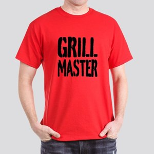 Grill Master T-Shirt For Cooking Men