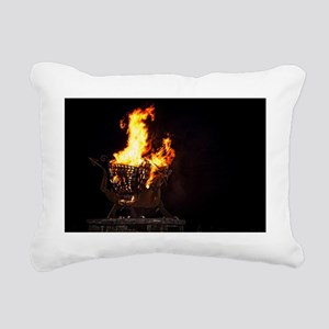 The Welsh Dragon Rectangular Canvas Pillow