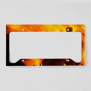 The Welsh Dragon License Plate Holder