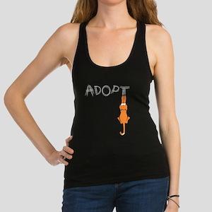 Adopt Cats Rusty™ Racerback Tank Top