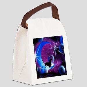 Dachshund Dreams Canvas Lunch Bag