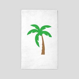 Palm Tree 3'x5' Area Rug
