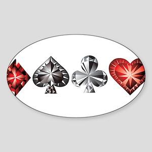 Poker Gems Sticker