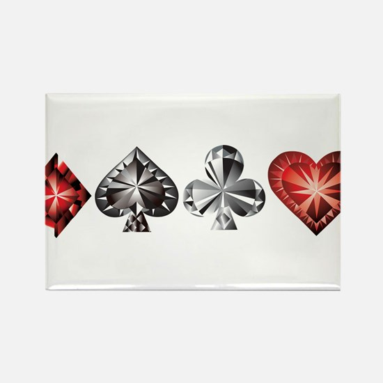 Poker Gems Magnets