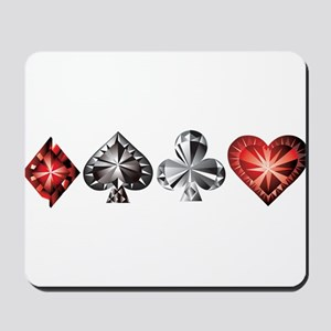 Poker Gems Mousepad