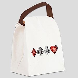 Poker Gems Canvas Lunch Bag