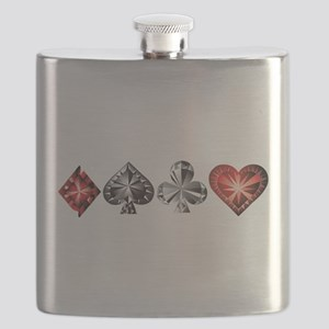 Poker Gems Flask