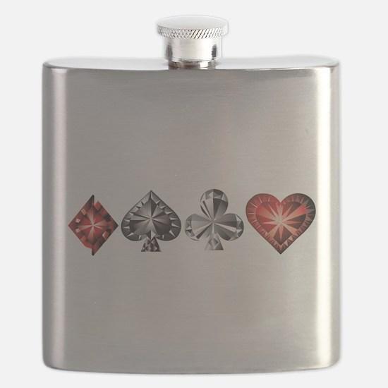 Poker Gems Flask