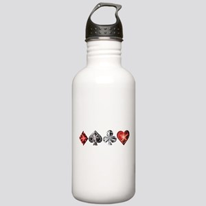Poker Gems Water Bottle