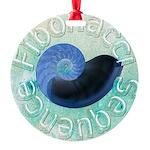 fibonacci sequence Round Ornament