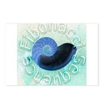 fibonacci sequence Postcards (Package of 8)