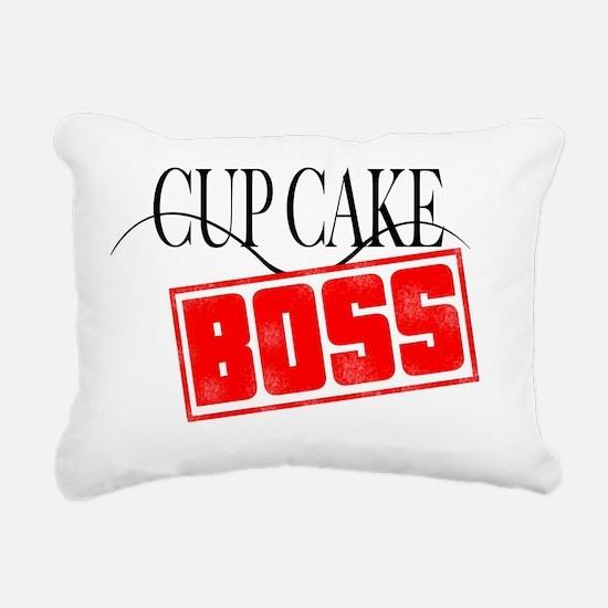 CupCake Boss Rectangular Canvas Pillow