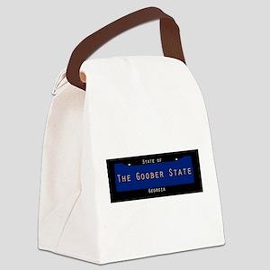 Georgia Nickname #3 Canvas Lunch Bag
