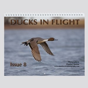 Ducks In Flight Issue 8 Wall Calendar