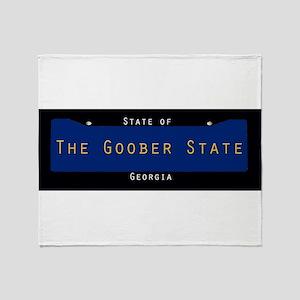 Georgia Nickname #3 Throw Blanket
