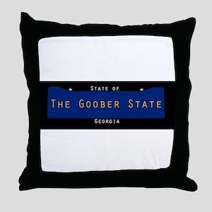 Georgia Nickname #3 Throw Pillow