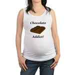 Chocolate Addict Maternity Tank Top