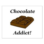 Chocolate Addict Small Poster