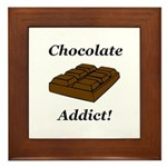Chocolate Addict Framed Tile