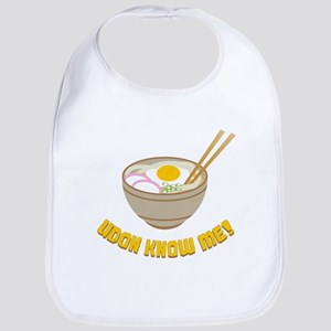 Udon Know Me Cotton Baby Bib