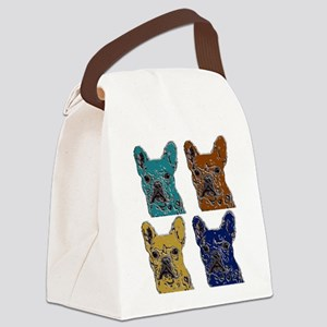 Autumn Color Hard Rock Ted Canvas Lunch Bag