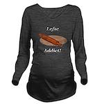 Lefse Addict Long Sleeve Maternity T-Shirt