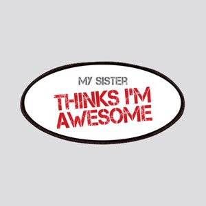 Sister Awesome Patches