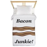 Bacon Junkie Twin Duvet