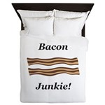 Bacon Junkie Queen Duvet