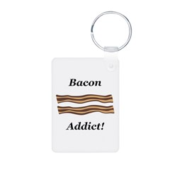 Bacon Addict Keychains