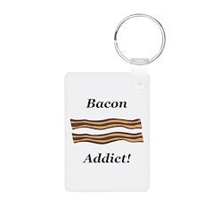 Bacon Addict Keychains