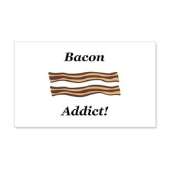Bacon Addict Wall Decal