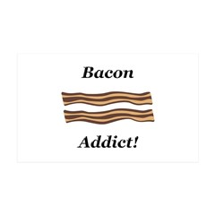 Bacon Addict Wall Decal