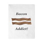 Bacon Addict Twin Duvet